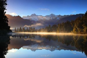 Lake Matheson II by CainPascoe
