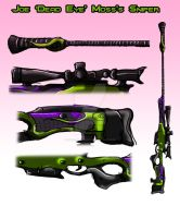 Sniper Rifle by Mad--Munchkin