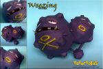 Weezing Papercraft by xDCosmo