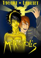 Death Note: Metropolis by CaptainNellio