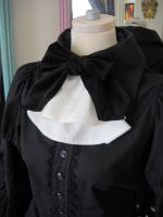 Cleo's Blouse - White Jabot by spookydarling