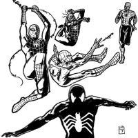 Spiderman_1-5_Sketches by MissleMan