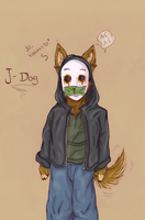 J-Dog Doggie :3 by AnaghaBloodpaw