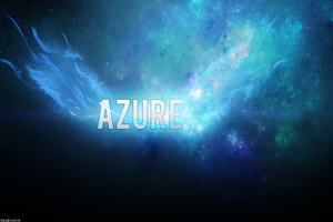 Azure by SyntheticsArt