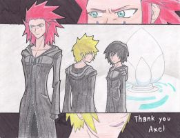 Good Bye, Axel. by Finalbladeyuking13