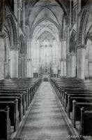 Catholic Cathedral Drawing by ashlife