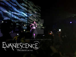 Evanescence in Brisbane 26-3-12 by EmeliaJane