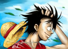 Monkey D. Luffy by MattSeiz