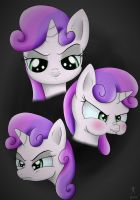 The faces of evil by Rameslack