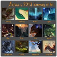 Summary of art 2013 by iZonbi