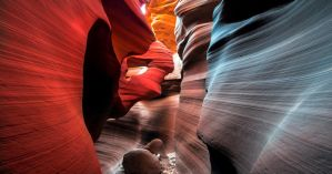 Antelope Canyon, The ring by alierturk