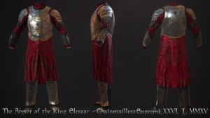Armor of the King Elessar - Chainmailless by Enpremi