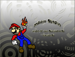 Mario Colour n sketch practice by Enigmatic-Andy