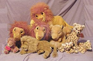 My Lion Collection Part 2 by toyjunkie1967