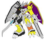 DNA WarGreymon New Version by vandalgion