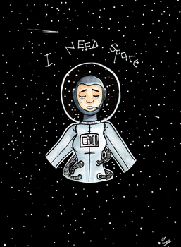 I Need Space by Ninja-frog
