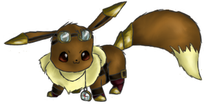 Ichabod--The Steampunk Eevee by Sycamore94