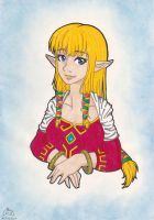 Zelda, Skyward Sword by GlwadysChan
