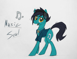 Music Soul by SparkleStarCat