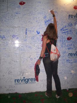 Rock in Rio scriblings ID by midinha