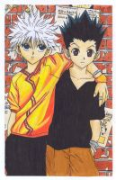HxH :: Killua X Gon by kresiana