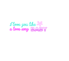 Texto PNG Love you like a love song by AllysshaLovatic