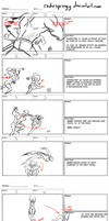 Fight Board-1 vs. Many pt 2 by cmbarnes