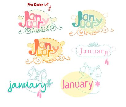 January Logo by GLASSESGIRL