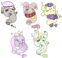 Ghost Adopts (CLOSED) by Pastel-Adopt