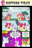 My Little Pony: Sisters Talk, Comic (toongrowner) by mickeyelric11