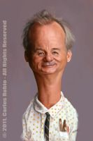 Bill Murray by CarlosRubio