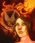 Girl On Fire: Hunger Games by PMSingTiger