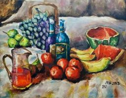 Still Life Painting by isabelnak