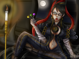 Bayonetta - The Night is Young by zakilliet