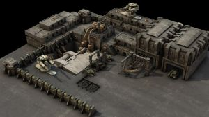 Military Bunker Outpost Wip 6a by eRe4s3r