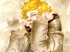 Young Shadowhunter by Scarlett-Winter