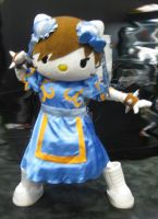 Comic Con 2012 Chun Li Hello Kitty by ShipperTrish