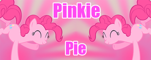 Pinkie Pie Banner by TTD33x