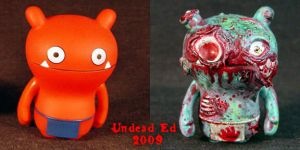 Wage Zombie Uglydoll COMPARE by Undead-Art
