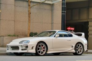 Creamy Supra by SeanTheCarSpotter