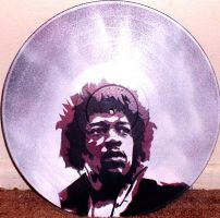 JIMI HENDRIX by BUTTERRUM