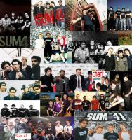 Sum 41 Collage by Shaddix-Fury