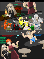 Dungeons and Dragons Random Stuff: Enter the dwarf by Dewani90