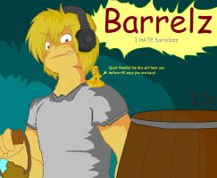 PewDiePie and BARRELS!!  (OLD) by SuperSmashWolves