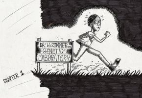 Escape from Dr Triclop's lab. by Dikdiz