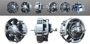 3D Radial Engine by stretch186
