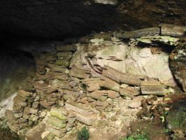 Sagada's burial cave by Madette