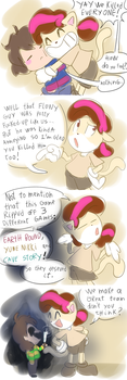 play Undertale they said.. ok by thegreatrouge
