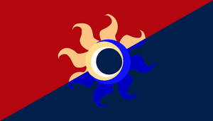 Flag of Equestria by Pacman552