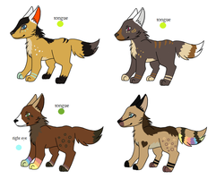 Pup Litter 33 by LizzysAdopts